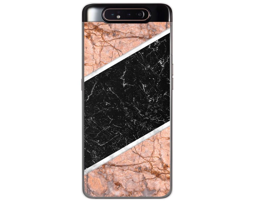 Funda Gel Tpu para Samsung Galaxy A80 diseño Mármol 07 Dibujos