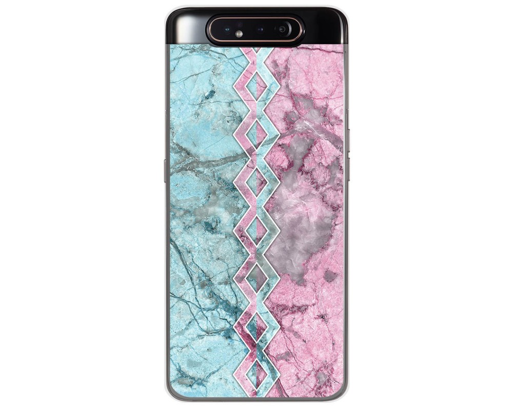 Funda Gel Tpu para Samsung Galaxy A80 diseño Mármol 08 Dibujos