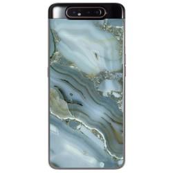 Funda Gel Tpu para Samsung Galaxy A80 diseño Mármol 09 Dibujos