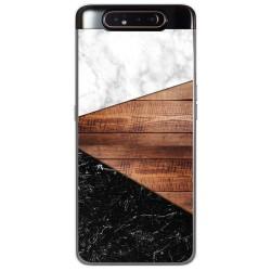 Funda Gel Tpu para Samsung Galaxy A80 diseño Mármol 11 Dibujos