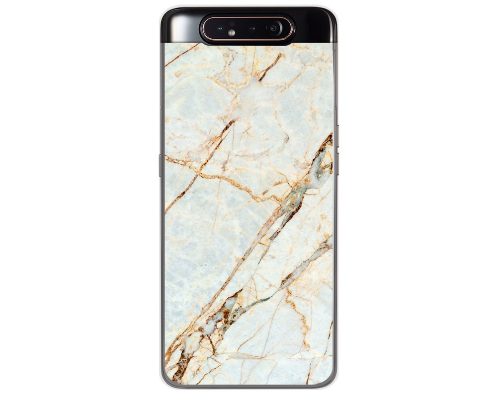 Funda Gel Tpu para Samsung Galaxy A80 diseño Mármol 13 Dibujos