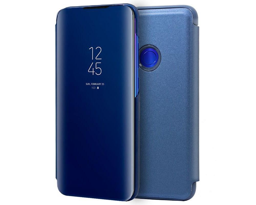 Funda Flip Cover Clear View para Xiaomi Redmi Note 7 color Azul