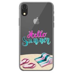 Funda Gel Transparente para Iphone Xr diseño Summer Dibujos