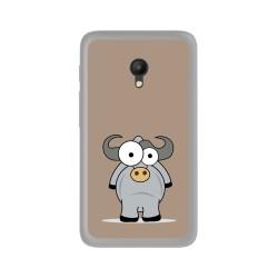 Funda Gel Tpu para Orange Rise 51 / Alcatel Pixi 4 (5) 4G / Vodafone Smart Turbo 7 Diseño Toro Dibujos