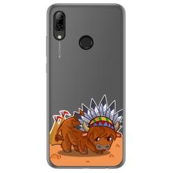 Funda Gel Transparente para Huawei P Smart 2019 / Honor 10 Lite diseño Bufalo Dibujos