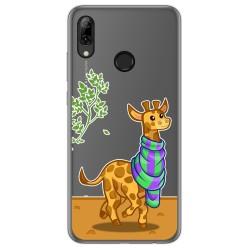 Funda Gel Transparente para Huawei P Smart 2019 / Honor 10 Lite diseño Jirafa Dibujos