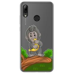 Funda Gel Transparente para Huawei P Smart 2019 / Honor 10 Lite diseño Mono Dibujos