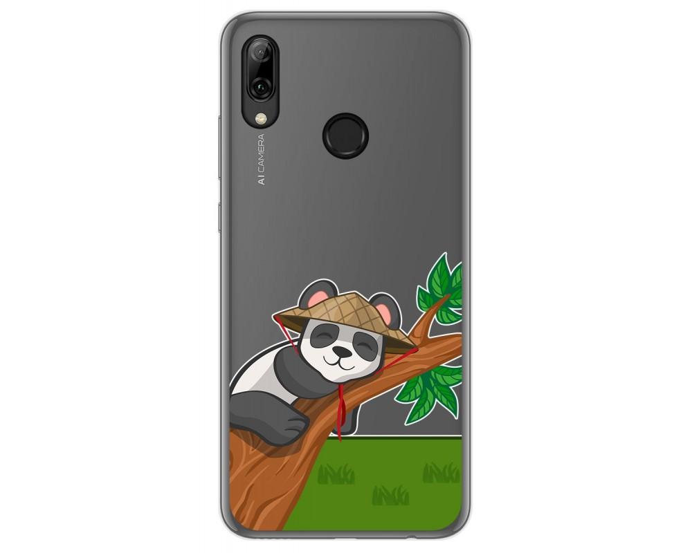 Funda Gel Transparente para Huawei P Smart 2019 / Honor 10 Lite diseño Panda Dibujos