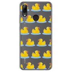 Funda Gel Transparente para Huawei P Smart 2019 / Honor 10 Lite diseño Pato Dibujos