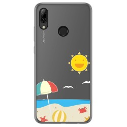 Funda Gel Transparente para Huawei P Smart 2019 / Honor 10 Lite diseño Playa Dibujos