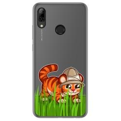 Funda Gel Transparente para Huawei P Smart 2019 / Honor 10 Lite diseño Tigre Dibujos