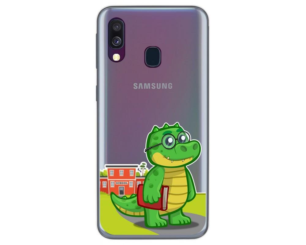 Funda Gel Transparente para Samsung Galaxy A40 diseño Coco Dibujos
