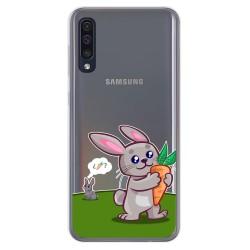 Funda Gel Transparente para Samsung Galaxy A50 / A50s / A30s diseño Conejo Dibujos