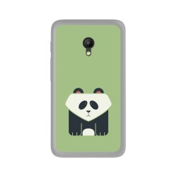 Funda Gel Tpu para Orange Rise 51 / Alcatel Pixi 4 (5) 4G / Vodafone Smart Turbo 7 Diseño Panda Dibujos