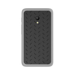 Funda Gel Tpu para Orange Rise 51 / Alcatel Pixi 4 (5) 4G / Vodafone Smart Turbo 7 Diseño Metal Dibujos