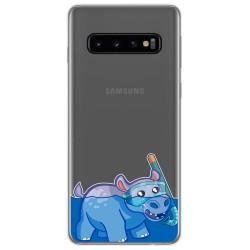 Funda Gel Transparente para Samsung Galaxy S10 diseño Hipo Dibujos