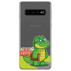 Funda Gel Transparente para Samsung Galaxy S10 Plus diseño Coco Dibujos