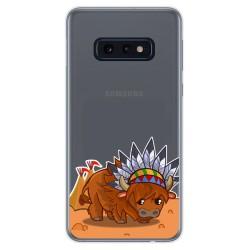 Funda Gel Transparente para Samsung Galaxy S10e diseño Bufalo Dibujos