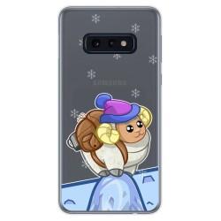 Funda Gel Transparente para Samsung Galaxy S10e diseño Cabra Dibujos