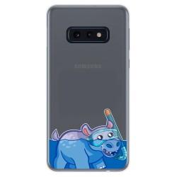 Funda Gel Transparente para Samsung Galaxy S10e diseño Hipo Dibujos