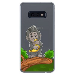 Funda Gel Transparente para Samsung Galaxy S10e diseño Mono Dibujos