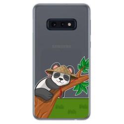 Funda Gel Transparente para Samsung Galaxy S10e diseño Panda Dibujos