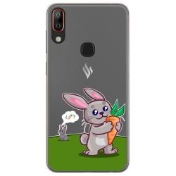 Funda Gel Transparente para Vsmart Active 1+ Plus diseño Conejo Dibujos