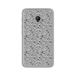 Funda Gel Tpu para Orange Rise 51 / Alcatel Pixi 4 (5) 4G / Vodafone Smart Turbo 7 Diseño Letras Dibujos