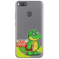 Funda Gel Transparente para Xiaomi Mi 5X / Mi A1 diseño Coco Dibujos