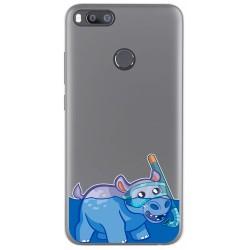 Funda Gel Transparente para Xiaomi Mi 5X / Mi A1 diseño Hipo Dibujos
