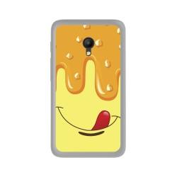 Funda Gel Tpu para Orange Rise 51 / Alcatel Pixi 4 (5) 4G / Vodafone Smart Turbo 7 Diseño Helado Vainilla Dibujos