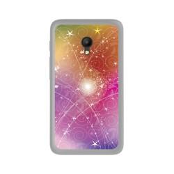 Funda Gel Tpu para Orange Rise 51 / Alcatel Pixi 4 (5) 4G / Vodafone Smart Turbo 7 Diseño Abstracto Dibujos