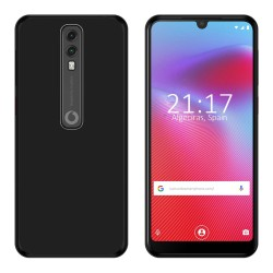 Funda Gel Tpu para Vodafone Smart V10 Color Negra