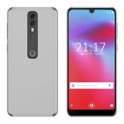 Funda Gel Tpu para Vodafone Smart V10 Color Transparente