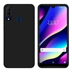 Funda Gel Tpu para Wiko View3 Color Negra
