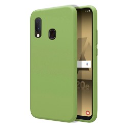 Funda Silicona Líquida Ultra Suave para Samsung Galaxy A20e 5.8 color Verde