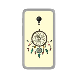Funda Gel Tpu para Orange Rise 51 / Alcatel Pixi 4 (5) 4G / Vodafone Smart Turbo 7 Diseño Atrapasueños Dibujos