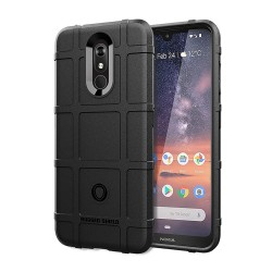 Funda Armor Rugged Shield Antigolpes para Nokia 3.2 color Negra