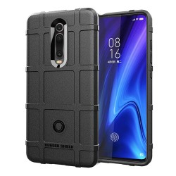 Funda Armor Rugged Shield Antigolpes para Xiaomi Mi 9T / Mi 9T Pro color Negra