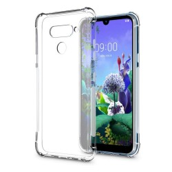 Funda Gel Tpu Anti-Shock Transparente para Lg Q60 / K50