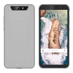 Funda Gel Tpu para Blackview BV5500 / BV5500 Pro Color Transparente