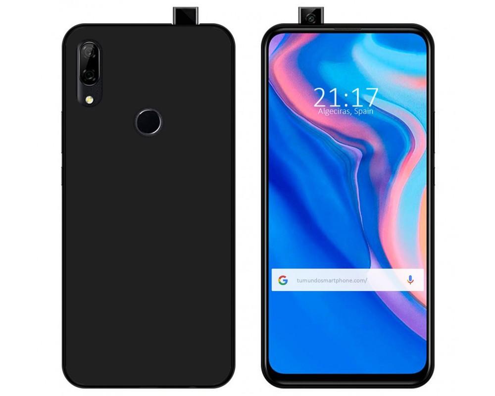 Funda Gel Tpu para Huawei P Smart Z Color Negra