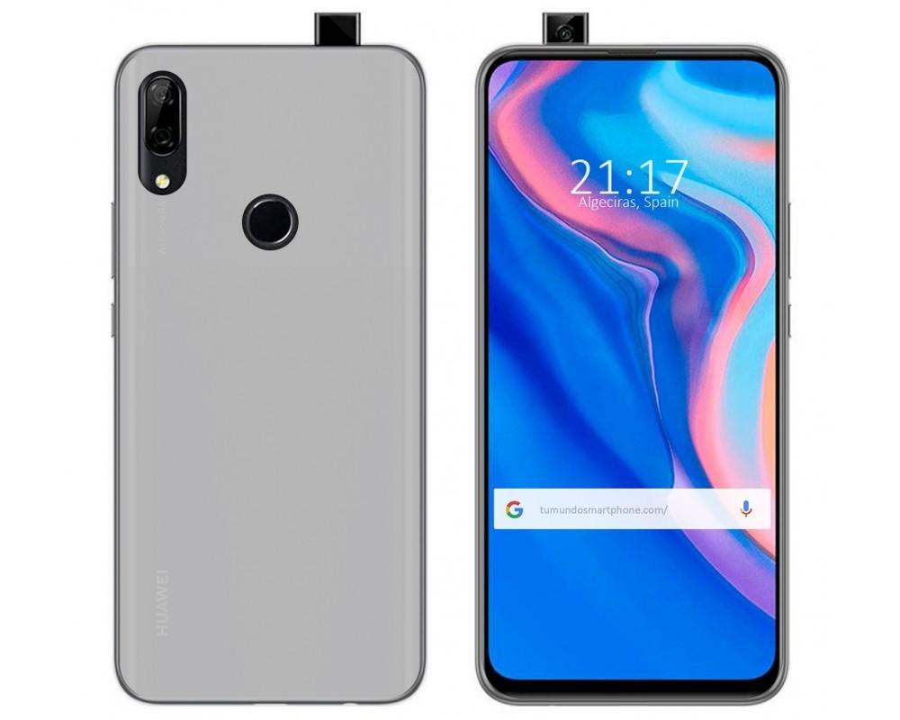 Funda Gel Tpu para Huawei P Smart Z Color Transparente