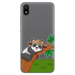 Funda Gel Transparente para Xiaomi Redmi 7A diseño Panda Dibujos