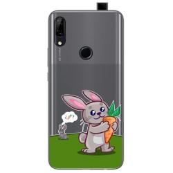 Funda Gel Transparente para Huawei P Smart Z diseño Conejo Dibujos