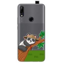 Funda Gel Transparente para Huawei P Smart Z diseño Panda Dibujos