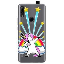 Funda Gel Transparente para Huawei P Smart Z diseño Unicornio Dibujos