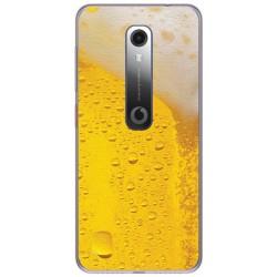 Funda Gel Tpu para Vodafone Smart N10 diseño Cerveza Dibujos