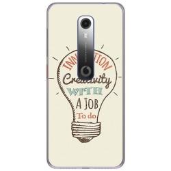 Funda Gel Tpu para Vodafone Smart N10 diseño Creativity Dibujos