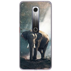 Funda Gel Tpu para Vodafone Smart N10 diseño Elefante Dibujos